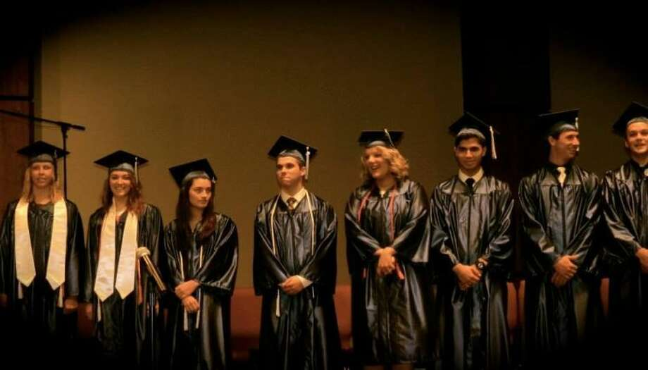 Lifestyle Christian School graduated 14 students on Sunday at the Conroe First Assembly of God.