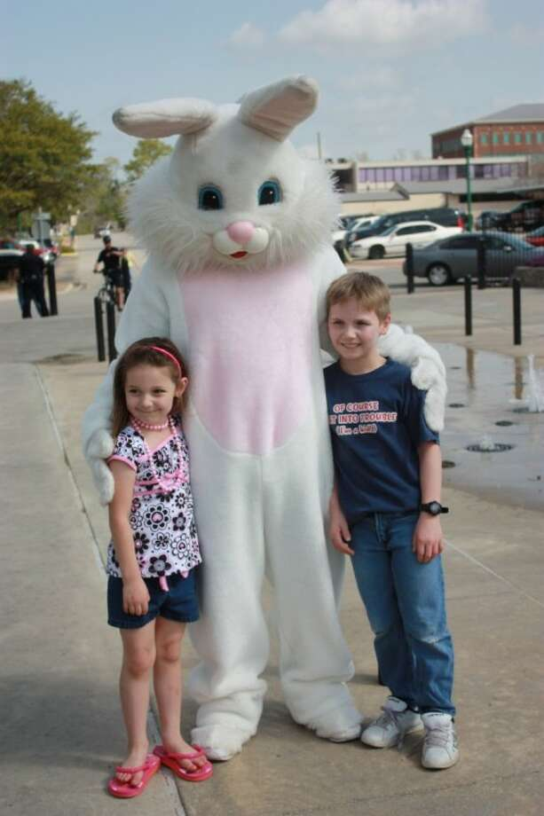 The city of Conroe hosts Morning with Mr. Bunny at 10 a.m. Saturday at Heritage Place Park in downtown Conroe. There will be an Easter Egg Hunt and photos with Mr. Bunny.