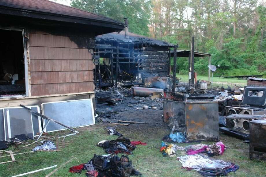 The Magnolia Fire Marshal is investigating a fire that destroyed this home in Montgomery Friday.