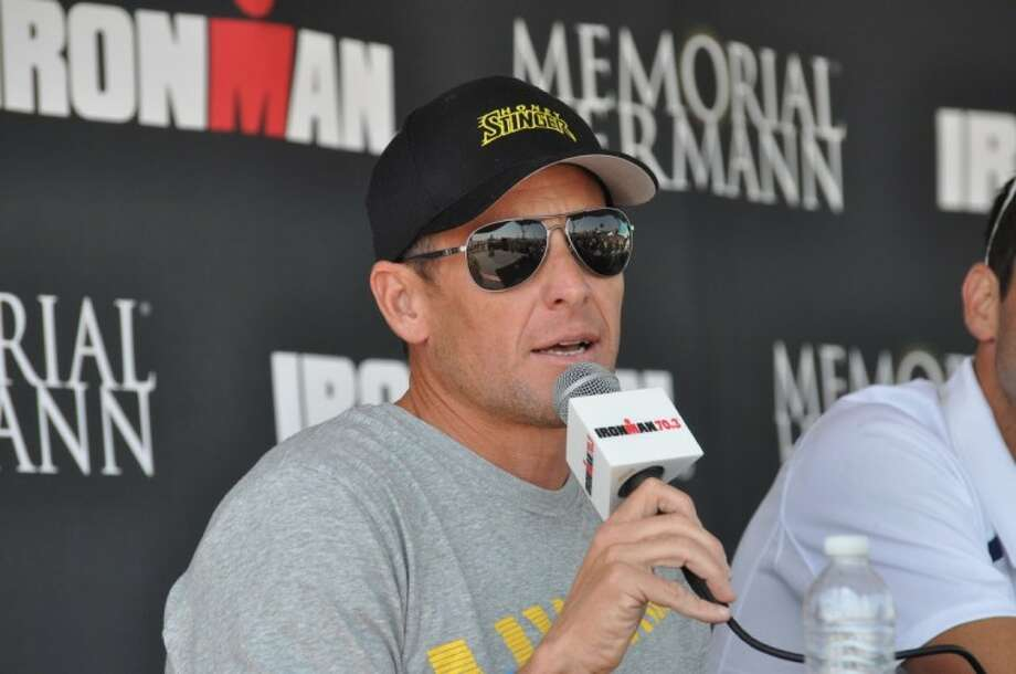 Lance Armstrong is set to compete in the U.S. Professional Ironman 70.3 Championship in Galveston on Sunday.