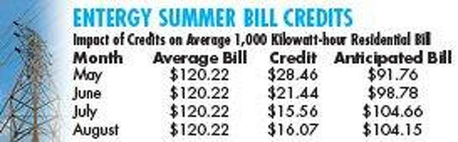 Entergy customers can look forward to dip in summer bills