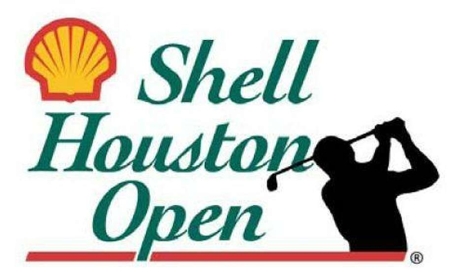 Kevin Stadler hits his third shot on the par-5 15th hole during the first round of the Shell Houston Open Thursday in Humble.