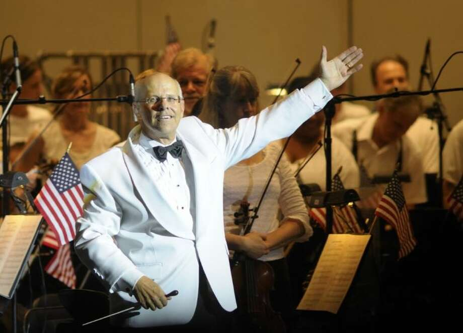 Principle Pops Conductor Michael Krajewski leads the Houston Symphony at Star-Spangled Salute July 3 at The Cynthia Woods Mitchell Pavilion with an array of patriotic music and fan favorites.