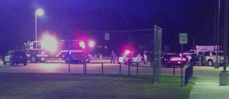 Law enforcement officials responded to a shooting at MLK, Jr. Park Tuesday night.