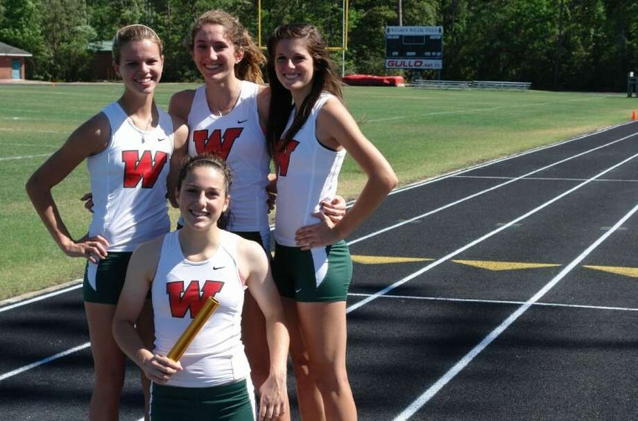 The Woodlands' 4x200-meter relay team is looking to be the latest Lady Highlanders' relay team to get to state.