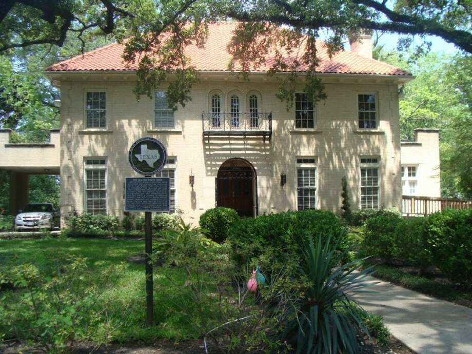 """The W.A. """"Bay"""" Evans home on Pauline and Thompson in Conroe. The home was designed by Blum Hester, who also designed the Crighton Theatre in the 1930s. The home now serves as the Hopkins Law Firm."""