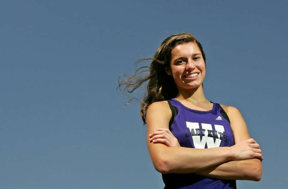 Willis High School's Cali Roper is an accomplished distance runner.