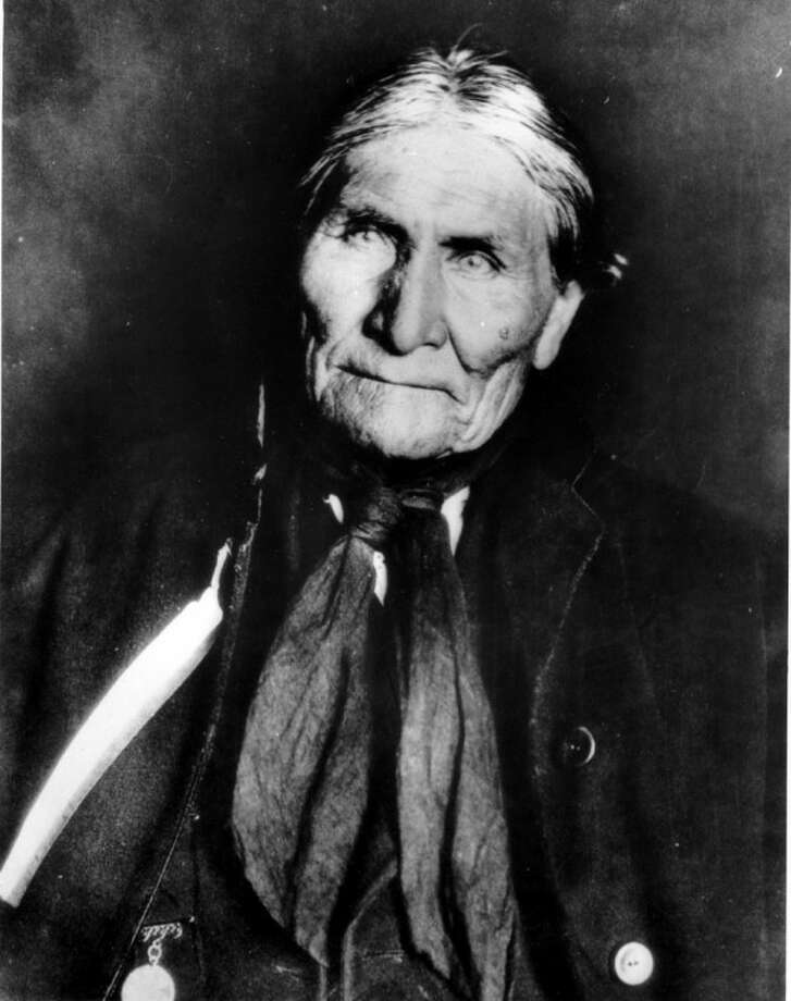 "This undated file photo shows the Chiricahua Apache Geronimo, late in his life. The leader of the Fort Sill Apache Tribe is looking for a formal apology from President Barack Obama for the government's use of the code name ""Geronimo"" for Osama bin Laden."