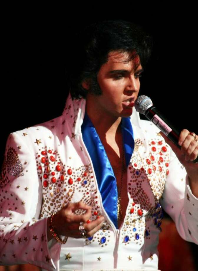"Donny Edwards will perform ""A True Tribute to Elvis"" March 28 at the Crighton Theatre in downtown Conroe."