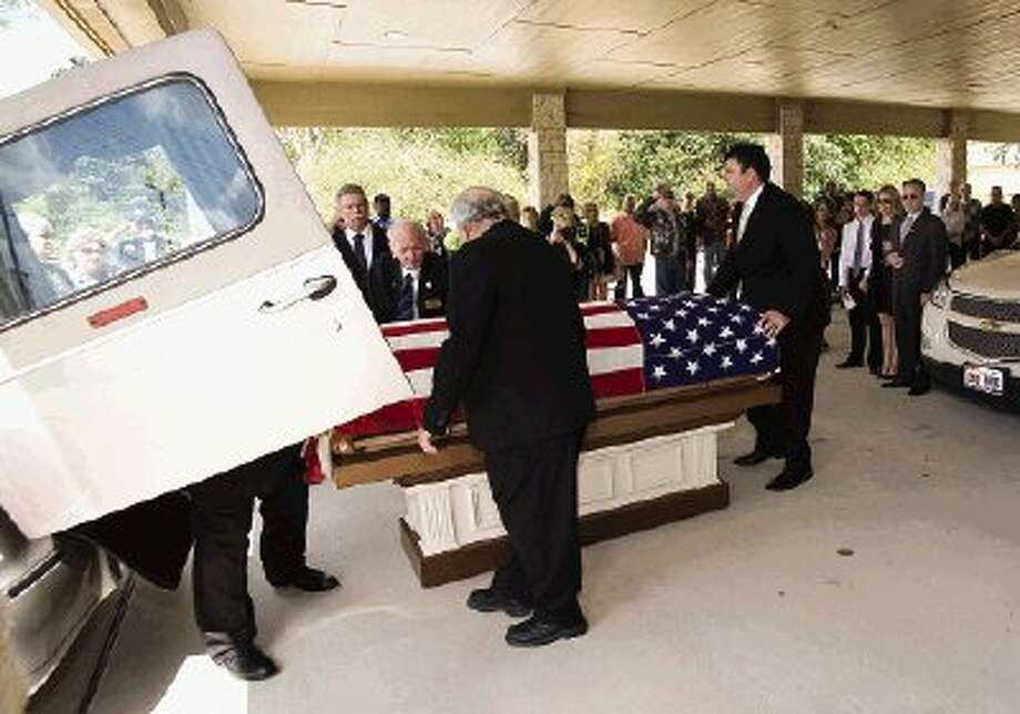 Funeral services for World War II veteran and Pearl Harbor survivor Dave Hughes were Monday.