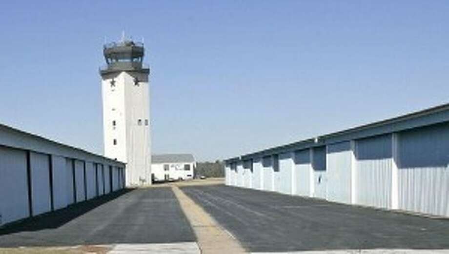 The air traffic control tower at Lone Star Executive Airport was con-structed at a cost of $2.4 million. The controllers handled 62,500 flight operations in 2012.