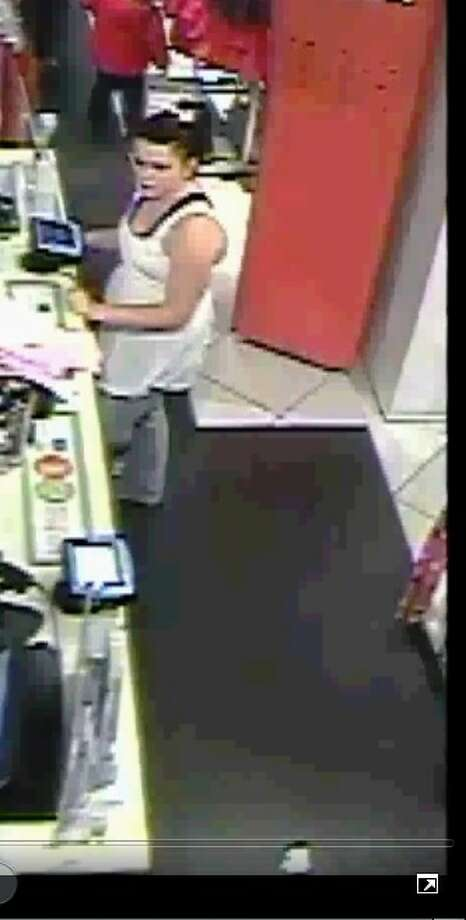 This photograph - taken from a video surveillance camera - shows the woman MCSO investigators are looking for in regard to the use of a credit card that was either lost or stolen. Call the MCSO Crime Reduction Unit at 936-760-6557.