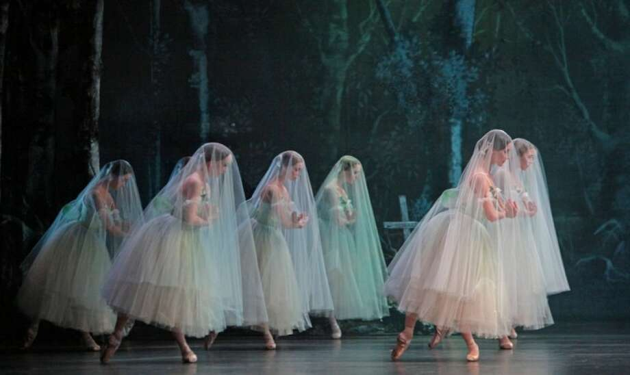 "The Houston Ballet presents ""Giselle"" at the Cynthia Woods Mitchell Pavilion on Friday, May 4."