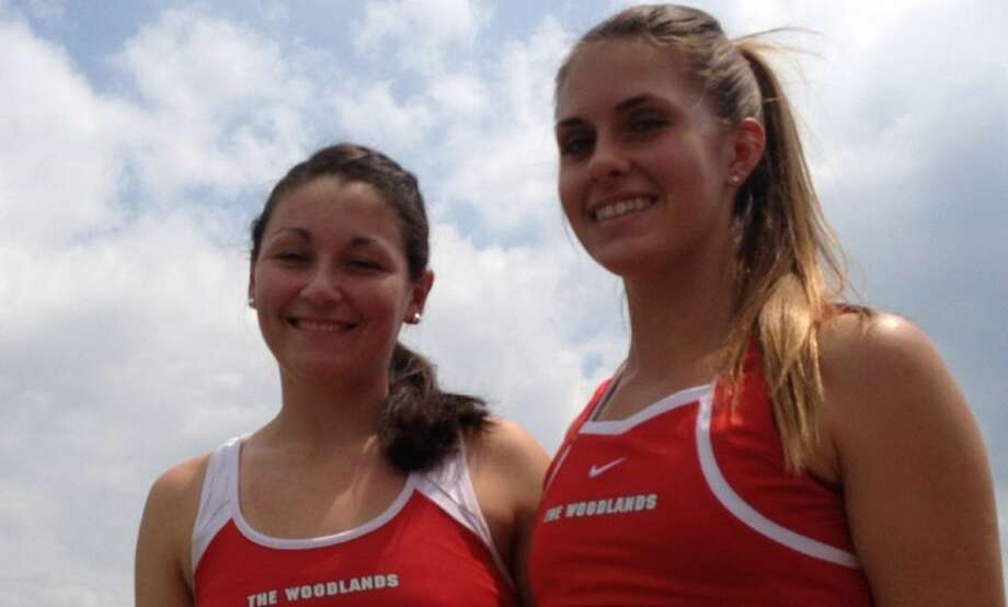 Junior Alex Huie, left, and sophomore Catherine Wythe last lost in August 2011.