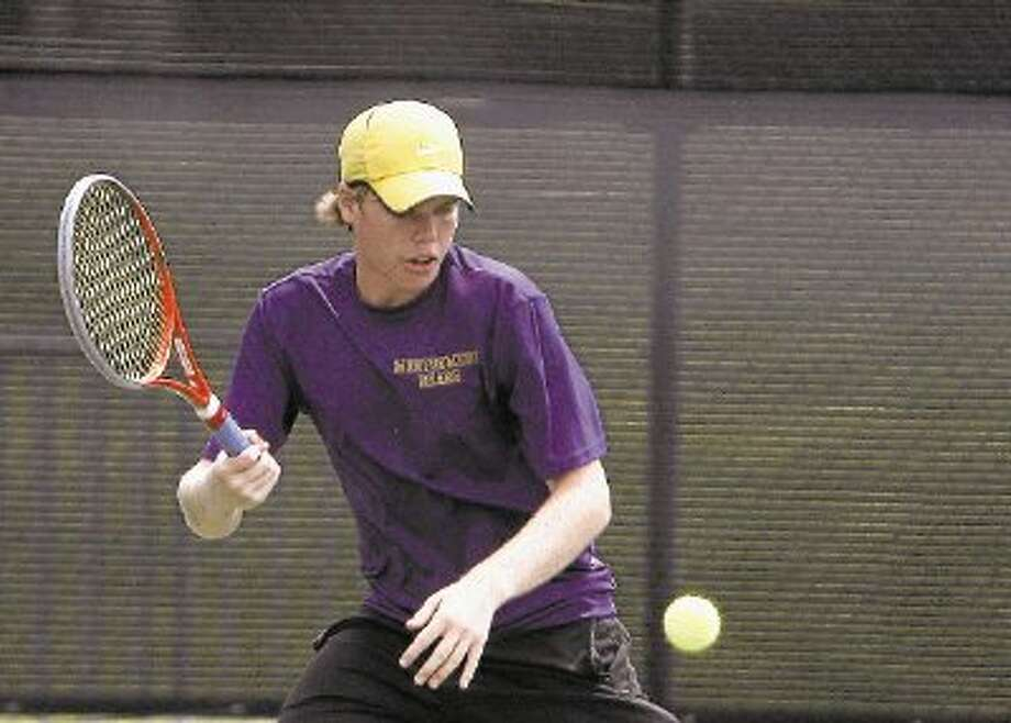 Montgomery's Brad Henkelman has reached the semifinals of the UIL Class 4A state tournament in Austin. Photo: Staff Photo By Eric Swist / @WireImgId=2623445