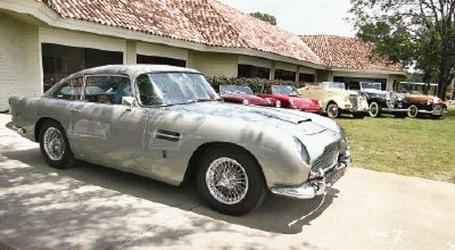 Highlighting the Concours d'Elegance classic car show and auction at La Torretta Lake Resort this weekend is a 1965 Aston Martin, a mechanical treasure once owned by George Harrison of the Beatles.