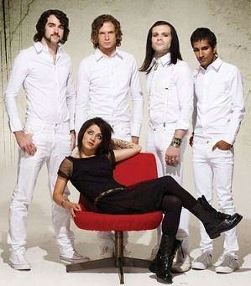 The band Flyleaf will be performing at the Cynthia Woods Mitchell Pavilion on May 2.