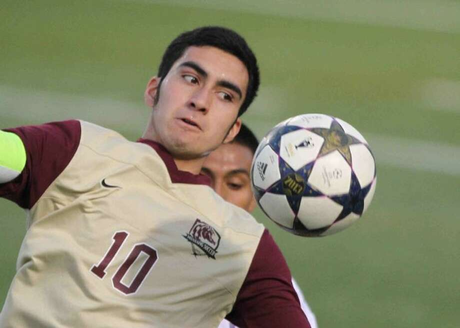 Magnolia West's Jose Lopez was named the District 40-4A Offensive Most Valuable Player. Photo: Staff Photo By Jason Fochtman