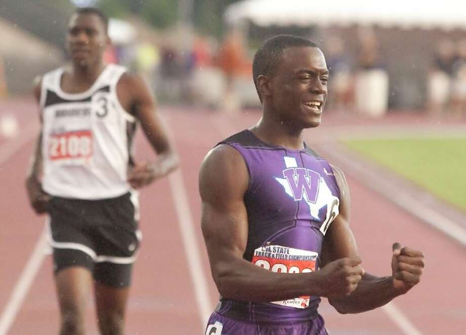 Willis junior Chris Platt has already won two state 400-meter dash titles. He will run for a third Friday night at the University of Texas at Austin's Mike A. Myers Stadium. Photo: Karl Anderson