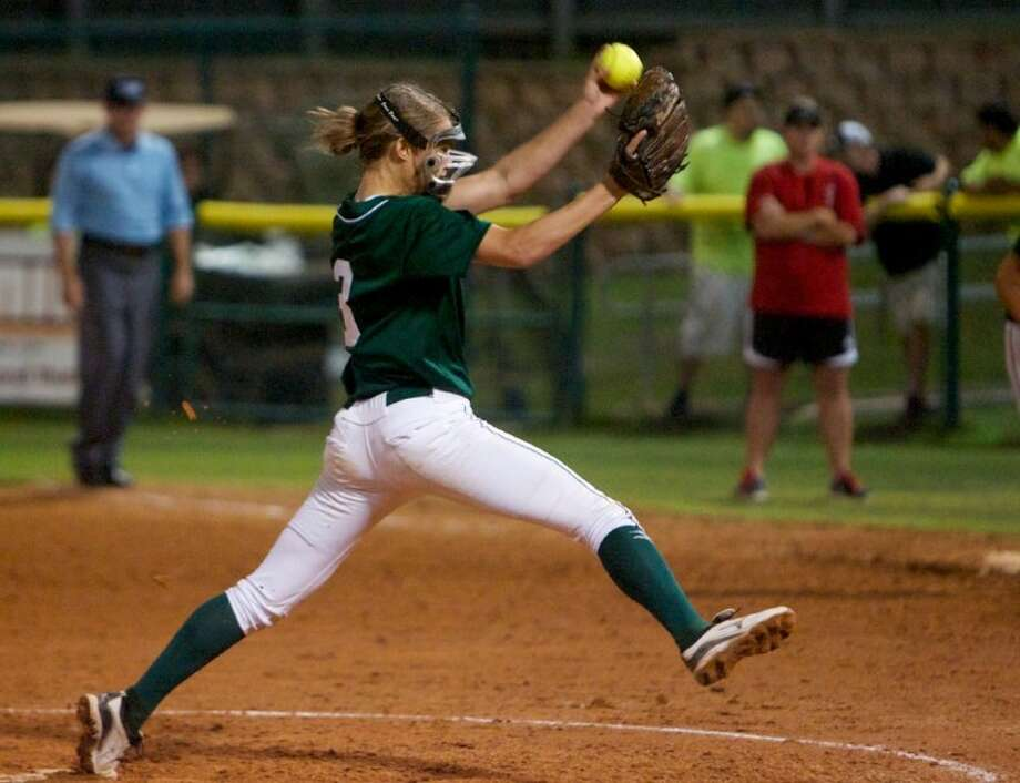 The Woodlands' Abby Langkamp finished her freshman season with an 11-1 record, four saves, a 1.31 ERA and 77 strikeouts against 25 walks in 90 2/3 innings in the circle.