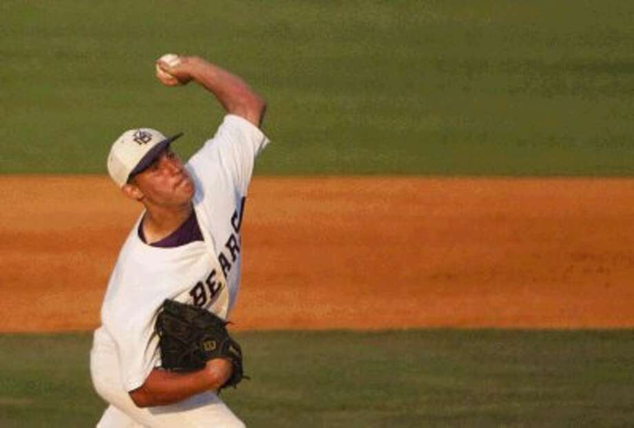 Montgomery's Ty Boland is expected to start Game 2 for the Bears in their best-of-three Region III-4A quarterfinal series with Nederland. Photo: Staff Photo By Eric Swist