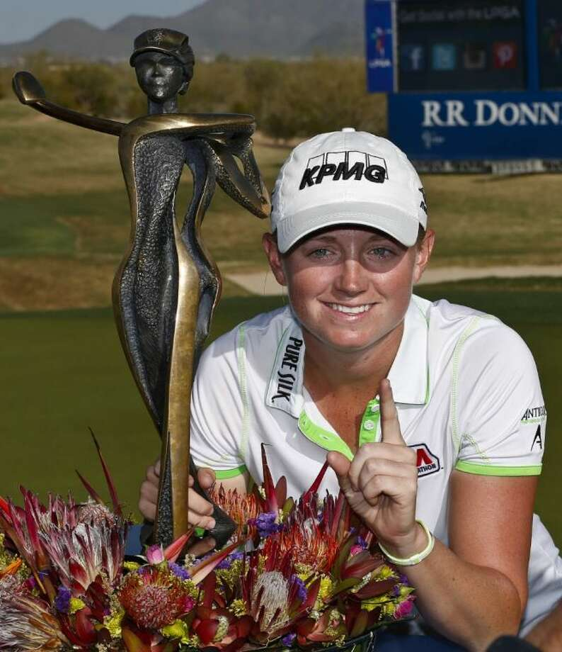 Stacy Lewis of The Woodlands is ranked No. 1 on the LPGA Tour. Photo: Ross D. Franklin