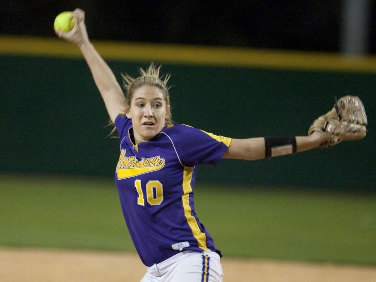Montgomery grad and current Texas Lutheran freshman Katelyn Sanders went 5-0 with a 1.35 ERA and 20 strikeouts in 26 innings last week.