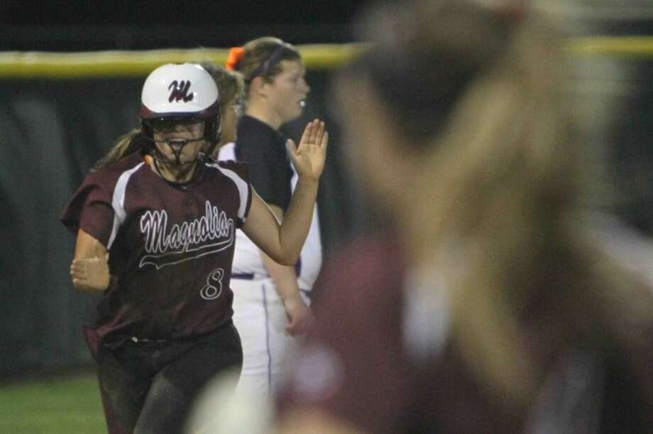 Magnolia sophomore shortstop Hailey Garza is only one of many underclassmen who will start Friday night. Photo: Staff Photo By Jason Fochtman