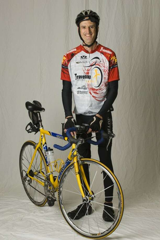 Barry Haarde, of The Woodlands, will be riding 3,700 miles from June 18 to Aug. 6 to raise funds for Save One Life, an organization that helps developing countries which struggle to battle hemophilia. Haarde was born with hemophilia and contracted HIV as a result of blood transfusions at age 13.