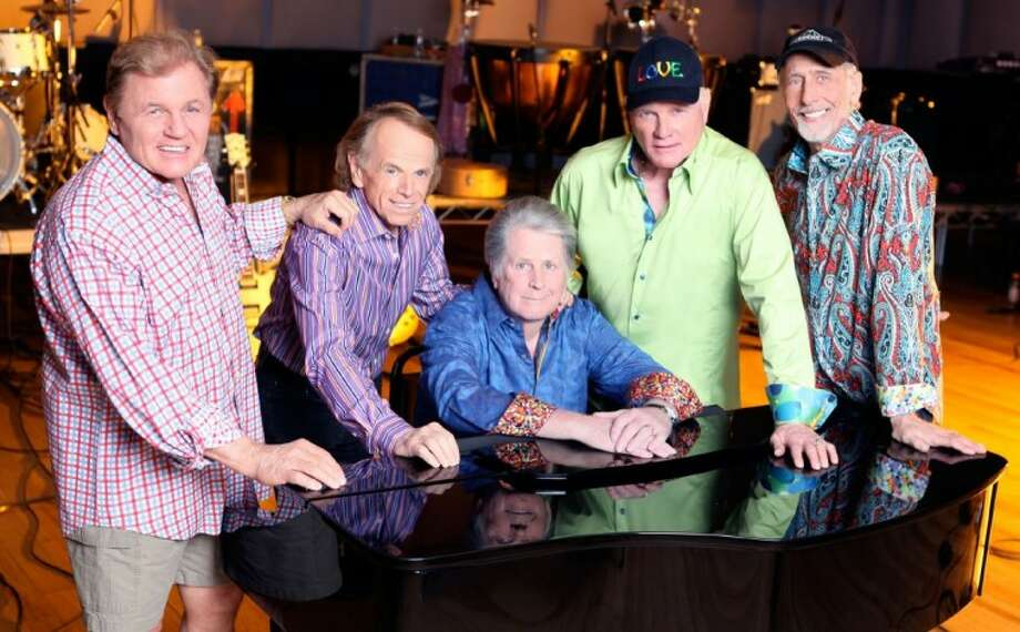 The Beach Boys are coming to The Woodlands Friday, left to right, Bruce Johnston, Alan Jardine, Brian Wilson, Mike Love and David Marks.
