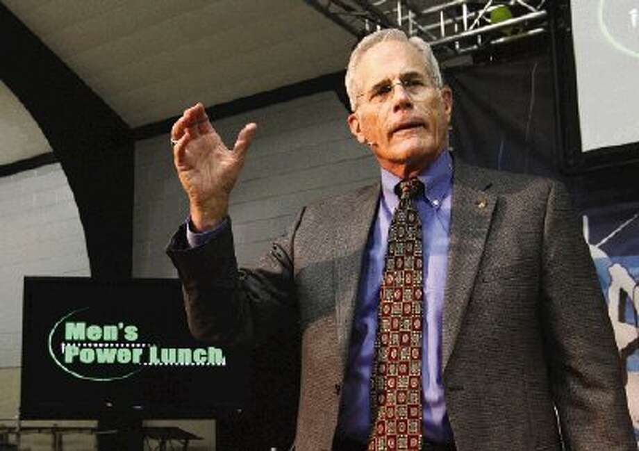 Retired Texas A&M head baseball coach Mark Johnson was the featured speaker at the final Men's Power Lunch of the third season. The program will resume in September with its fourth season.