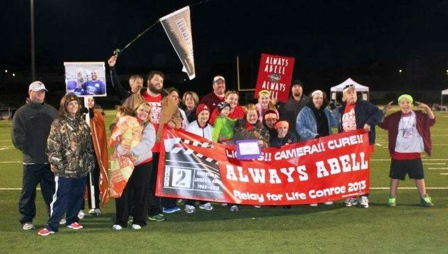 Team 'Always Abell' raised more than $18,000 for the fight against cancer. Relay for Life — Conroe was held last weekend at Buddy Moorhead Stadium and raised a total of $114,000 for cancer research.