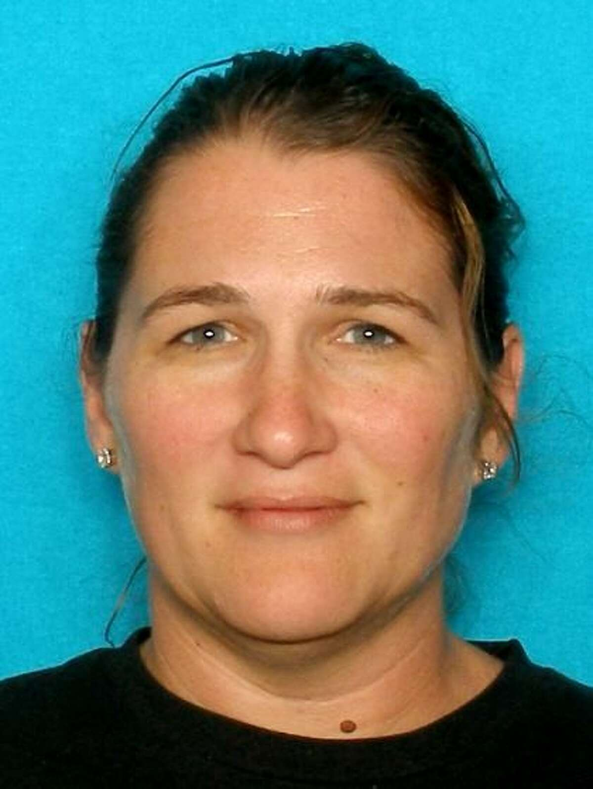 """COUGHRAN, Callie DailWhite/Female DOB: 06/13/1974Height: 5'09"""" Weight: 200 lbs.Hair: Brown Eyes: BrownWarrant: # 121212920 CapiasTheft of LivestockLKA: Red Bluff., La Porte."""
