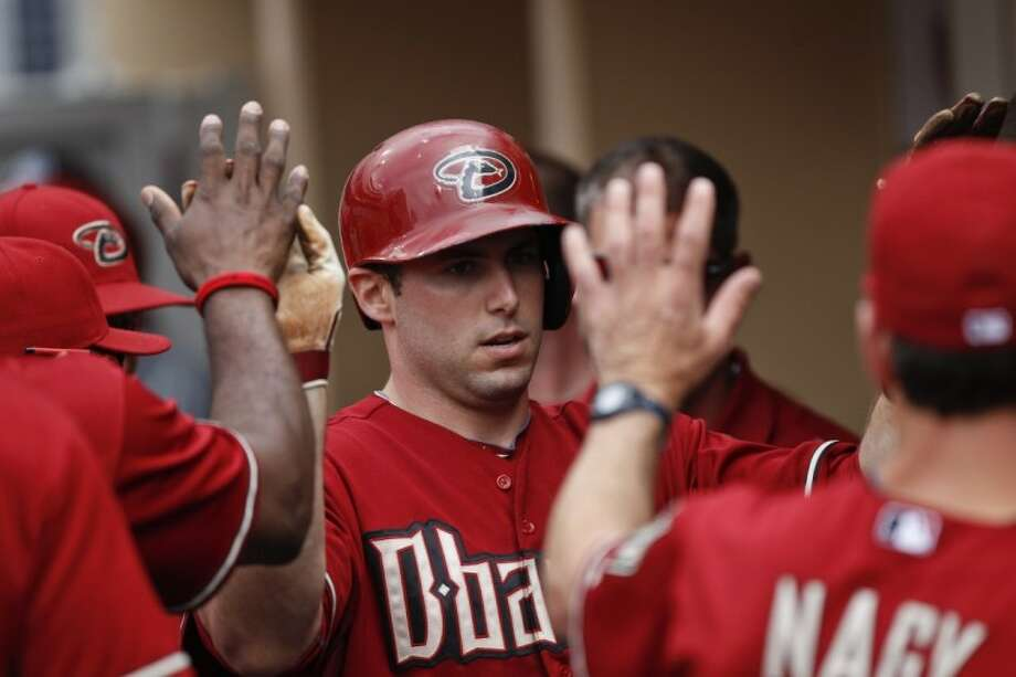 Arizona Diamondbacks' Paul Goldschmidt has had a .424 average over the span of his hitting streak, including six home runs and 10 RBIs. Photo: Lenny Ignelzi