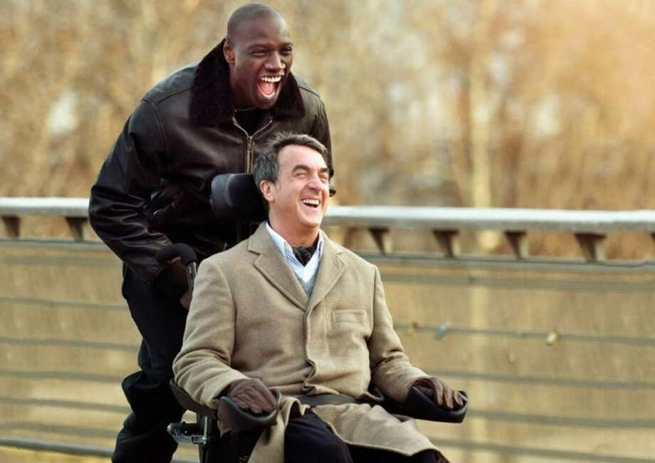 "In ""The Intouchables"" François Cluzet plays Philippe, an aristocrat who was paralyzed in a paragliding accident. Driss (Omar Sy) is a charismatic young Senegalese who is just there for a signature so he can collect unemployment benefits."