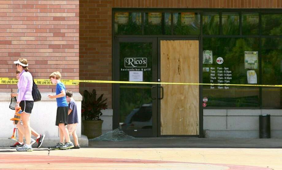 Rico's Hacienda Bar and Grille in the Alden Bridge Village Center was destroyed by fire early Monday morning.