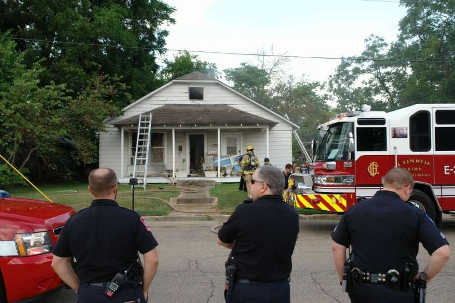 A neighbor called in a house fire at 118 Avenue A Saturday evening. The homeowner was out of town.
