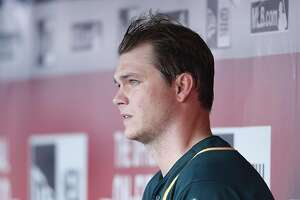 CINCINNATI, OH - JUNE 10: Sonny Gray #54 of the Oakland Athletics looks on against the Cincinnati Reds in the third inning of the game at Great American Ball Park on June 10, 2016 in Cincinnati, Ohio. The Reds defeated the Athletics 2-1. (Photo by Joe Robbins/Getty Images)