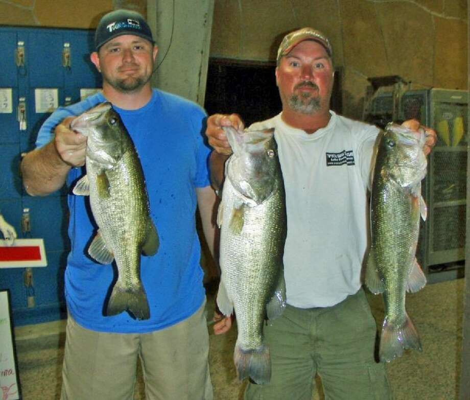 Steve Lee and Jason McClure won the Conroe Bass Tuesday Night Tournament on May 28 with a stringer weight of 11.86 pounds.