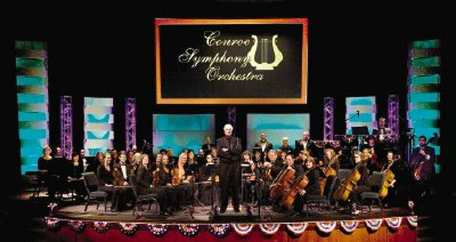 The Conroe Symphony Orchestra closed out its 2011-12 season with patriotic concert at the Ark Family Church on Monday.