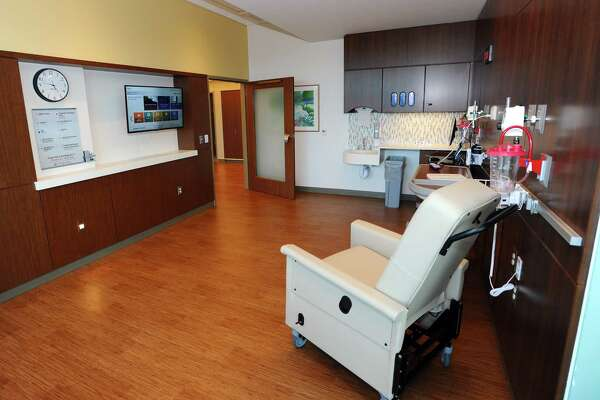 The new signature suites at Stamford Hospital will open in November to provide family members a comfortable experience while staying with patients.
