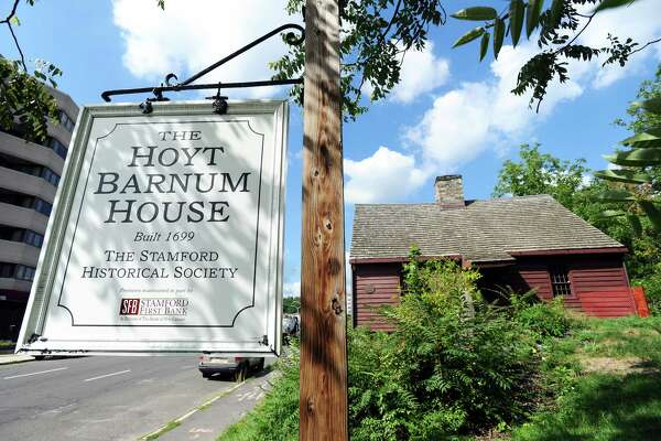 The Hoyt Barnum House, in downtown Stamford, Conn., on Thursday, August 18, 2016.