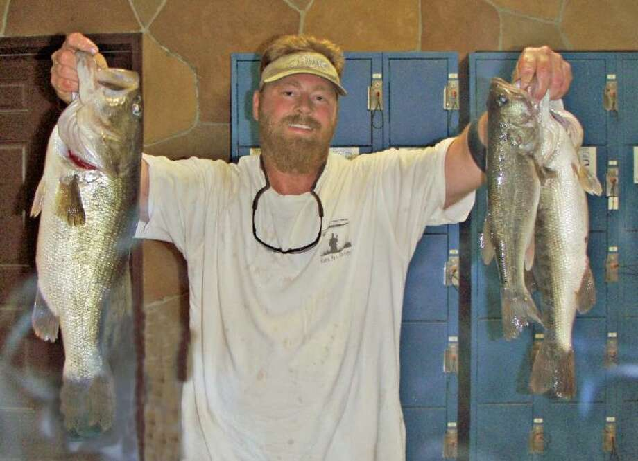 Danny Isbell won the Conroe Bass Tuesday Night Tournament on July 2 with a stringer weight of 12.27 pounds.