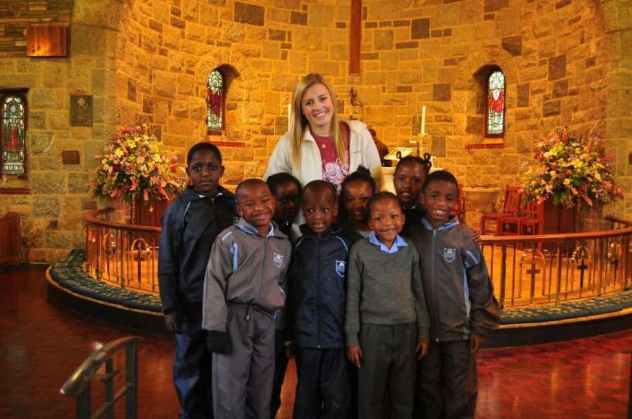 Tamsyn Morison recently volunteered at the Vuleka School in Johannesburg, South Africa.