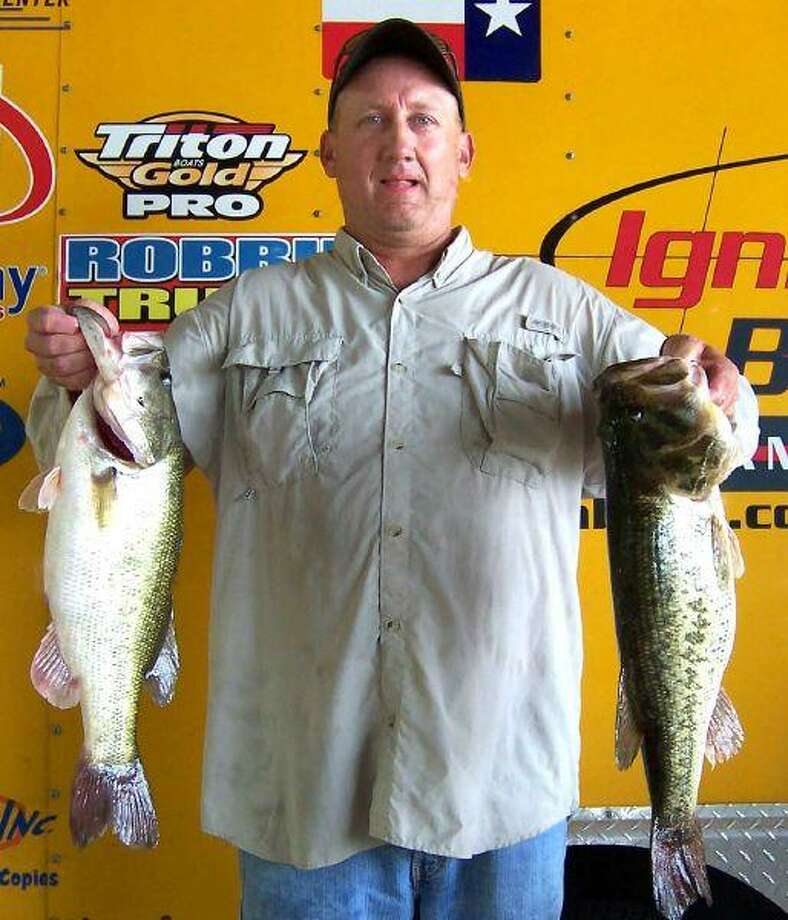 Ty Russell of Montgomery weighed in 5 fish for a total of 24.23 pounds that earned him first place in the Saturday Ignition Bass Tournament.