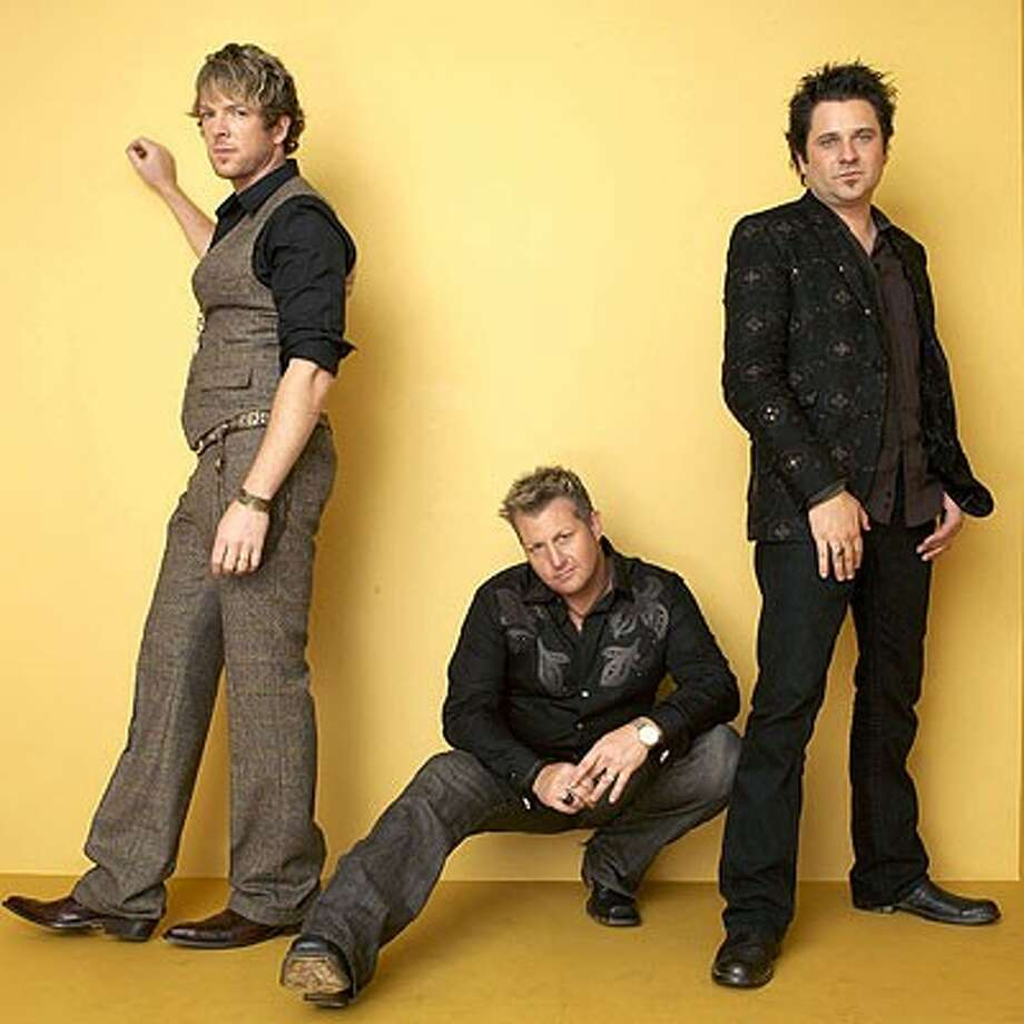 The country group Rascal Flatts performs at the Cynthia Woods Mitchell Pavilion on Saturday along with Little Big Town, Eli Young Band and Edens Edge.