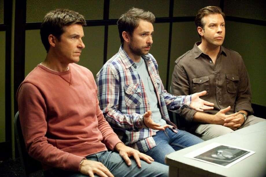 "Jason Bateman, Charlie Day and Jason Sudekis star in ""Horrible Bosses."""