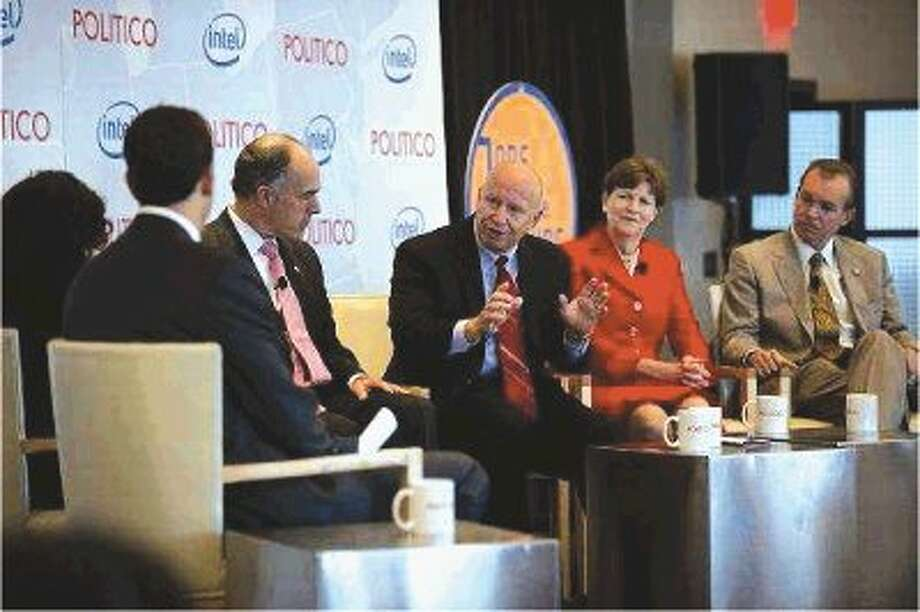 U.S. Rep. Kevin Brady, R-The Woodlands, participated Tuesday in the POLITICO Jobs of the Future event where he was joined by Sen Bob Casey, D-Penn., Sen. Jeanne Shaheen, D-N.H., and Freshman Rep. Mick Mulvaney, R-S.C., on a lively panel where the participants discussed how political wrangling crimps the economy.