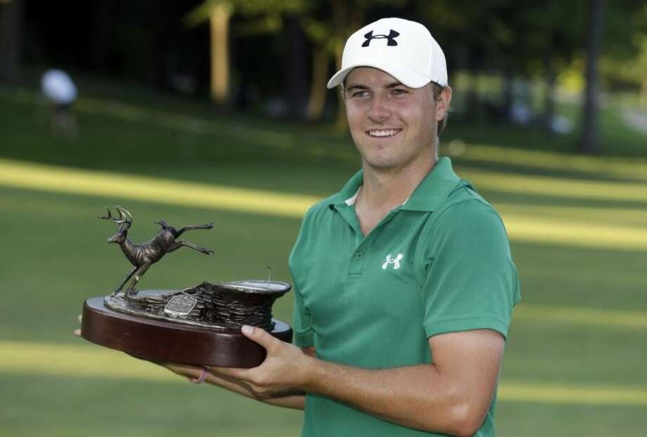 Jordan Spieth, 19, won the John Deere Classic in a playoff Sunday in Silvis, Ill. Photo: Charlie Neibergall