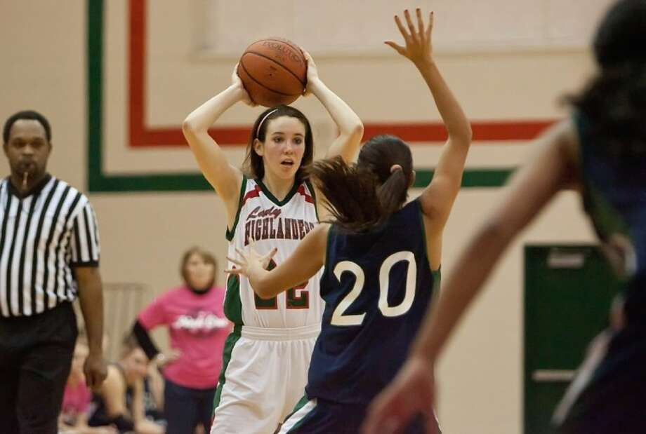 The Woodlands High School's Paige Bradley gave her verbal commitment to play for Denver University on Friday.